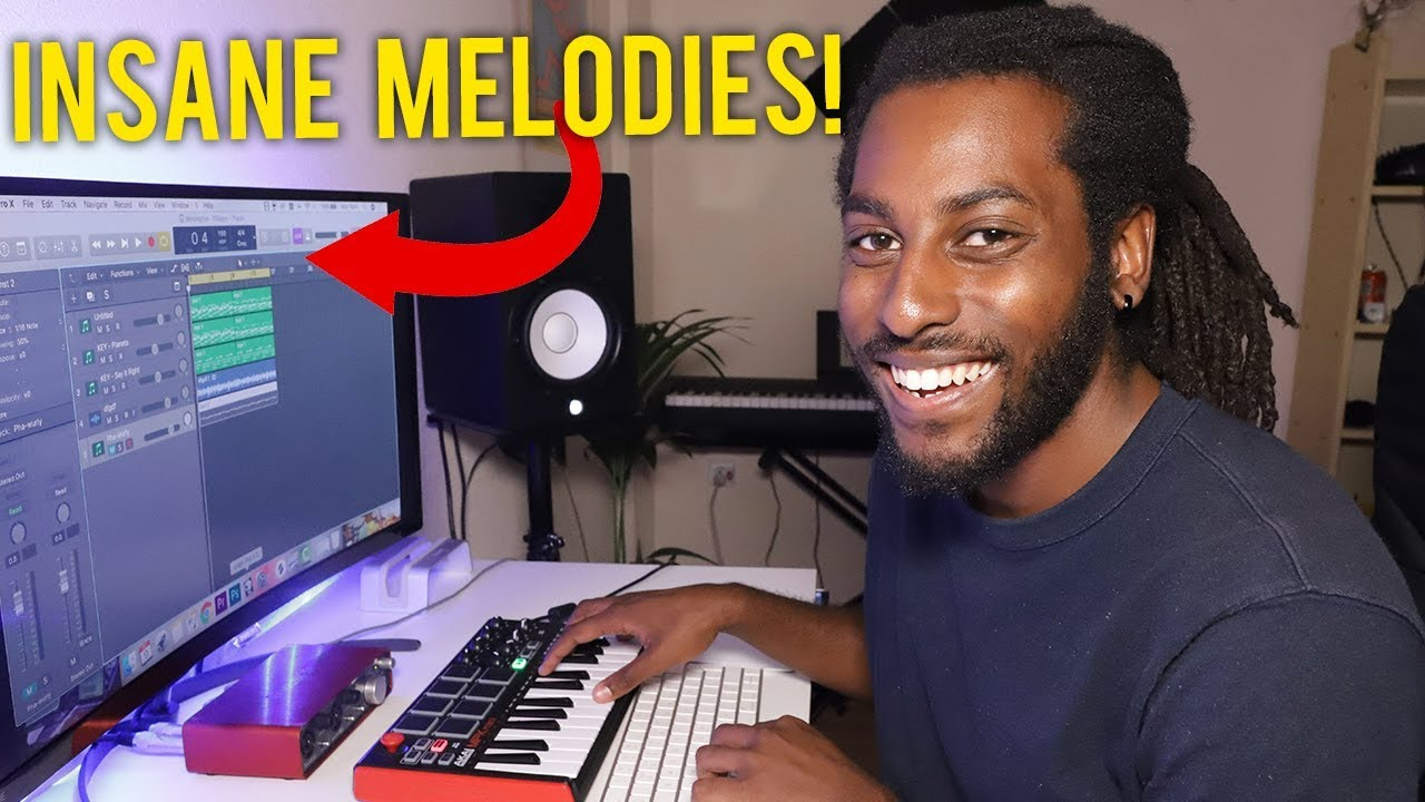 Making INSANE Melodies From Scratch | How to Make Your Own Sample Loops  Logic Pro X
