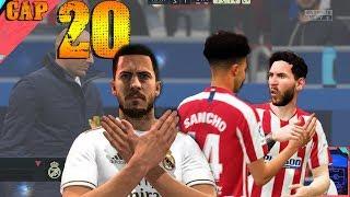 MESSI DEBE SALVAR EL PARTIDO CONTRA EL REAL MADRID EN EL MINUTO 90 MODO CARRERA FIFA 20