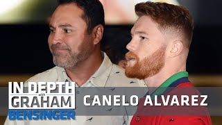 Canelo Alverez: De La Hoya just worries about drinking