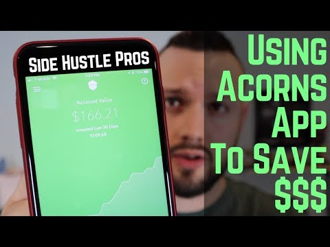 How To Save $$$ with Acorns App!