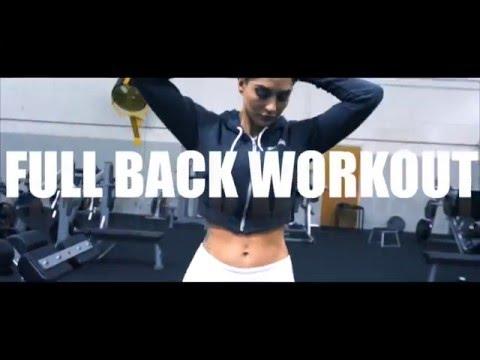 HOPE HOWARD Full Back Workout
