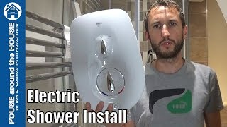 How to fit & install an electric shower. Mira Go shower installation.