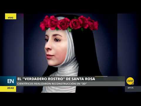 Video   Este Es El Verdadero Rostro De Santa Rosa De Lima