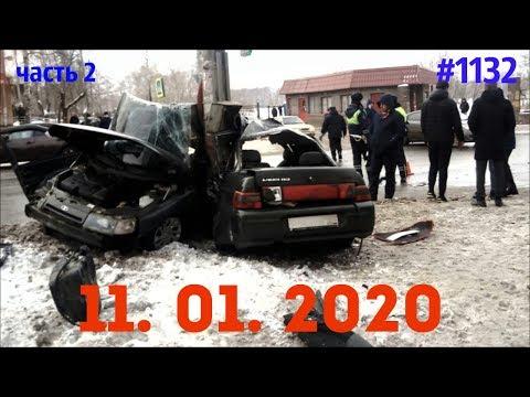 ☭★Подборка Аварий и ДТП от 11.01.2020/часть 2/#1132/Январь 2020/#авария