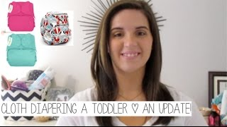Cloth Diapering a Toddler | An Update! (2 Years In)
