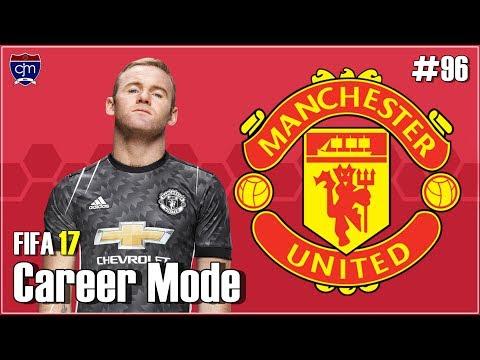 FIFA 17 Manchester United Career Mode: Gol Perdana Álvaro Morata #96 (Bahasa Indonesia)