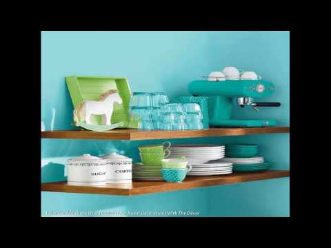 Color Scheme Combinations Against Turquoise For Room