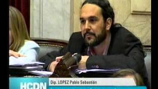 Intervención de Pablo López sobre la participación en las Ganancias de los trabajadores Telefónicos