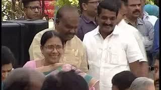 CM KCR Swearing Ceremony At Raj Bhavan 2018 LIVE  Pramana Sweekaram  Highlights 11