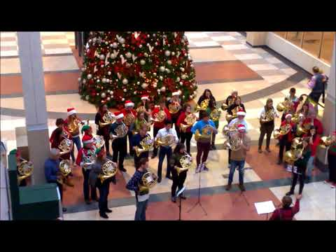 Merry Christmas - Flash Mob Christmas Music - Edmonton City Centre Mall