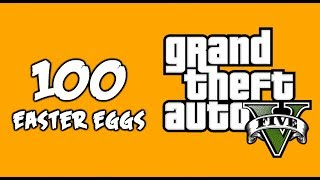100 AMAZING Easter Eggs in GTA 5!