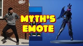 MYTHE'S NEW DANCE GOT ADDED -FANCY FEET EMOTE' LEAKED FORTNITE