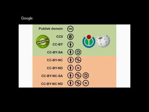 Wikimedia Commons en auteursrechten