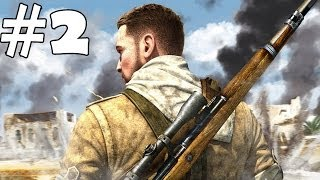 sniper elite 3 walkthrough part 2 gameplay let s play playthrough pc review 1080p hd