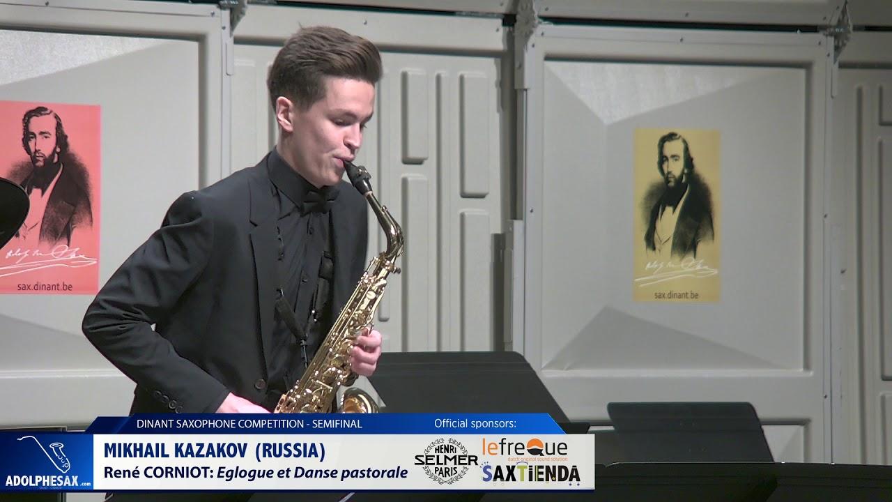 Mikhail Kazakov (Russia) - Eglogue et Danse pastorale by René Corniot (Dinant 2019)