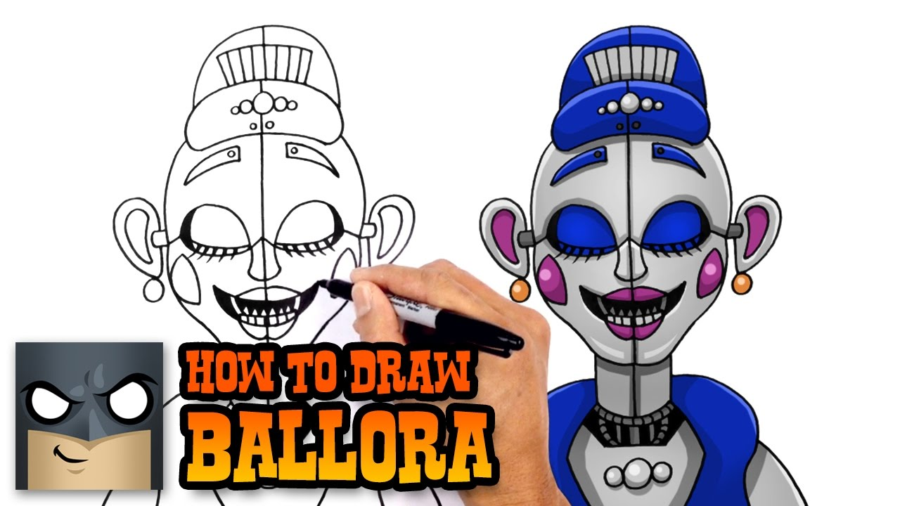 How to Draw Ballora | FNAF Sister Location - YouTube
