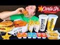 Double Cheeseburger Box • Carl's Jr. • MUKBANG