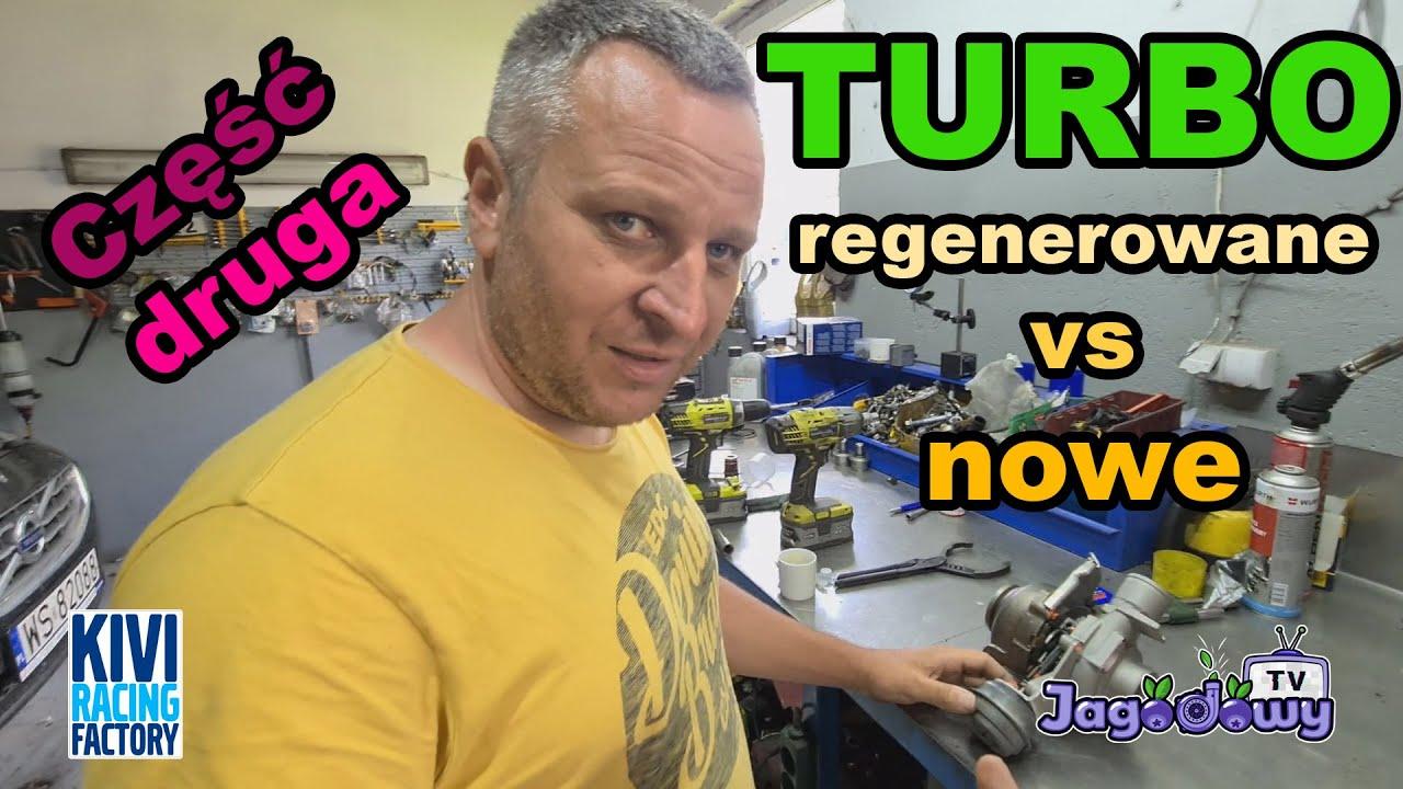 Kivi Racing Factory - turbo! regenerowane vs nowe (porównanie) (cz.2)