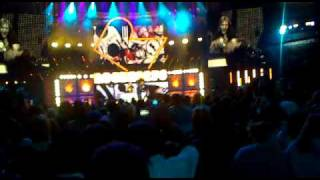 David Guetta ft Kelly Rowland - When Love Takes Over at Orange Rockcorps 2009