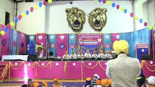 Khalsa School Surrey Religious Fair 2014 Tabla Performance