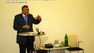 Essmann Impulsgespraech - Damit Kirche Zukunft hat 26.9.2012 St. Bernhard Wiener Neustadt