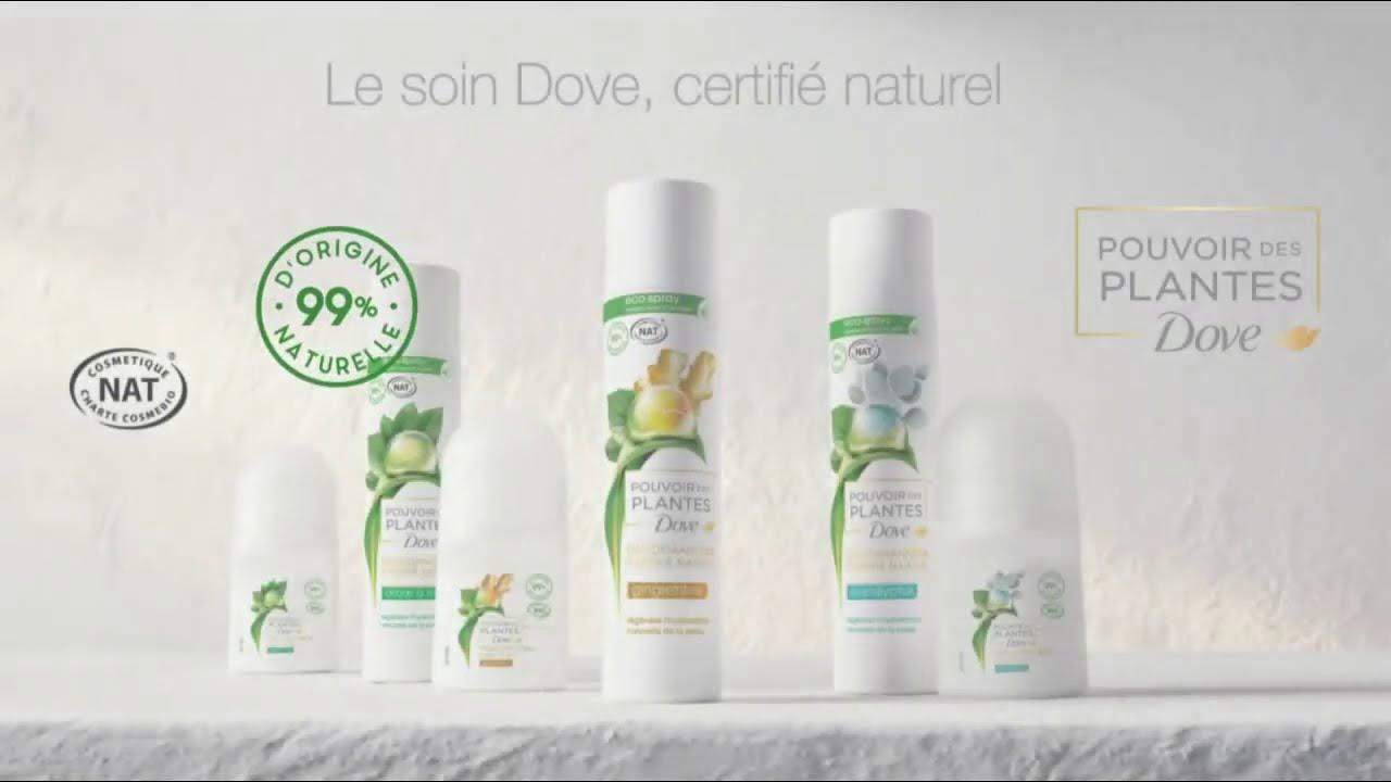 """Musique de la pub Nouveau déodorant Dove Pouvoir des Plantes """"le soin Dove certifié naturel""""  2021"""