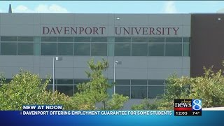 Davenport University Reveals Employment Guarantee