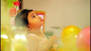 Thanviha TURNS ONE | Birthday Party Cinematic Highlights | ISWARYA PHOTOS