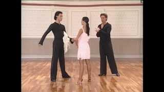 Танцевальный Тренинг- Донни Бернс.(ча ча ча)