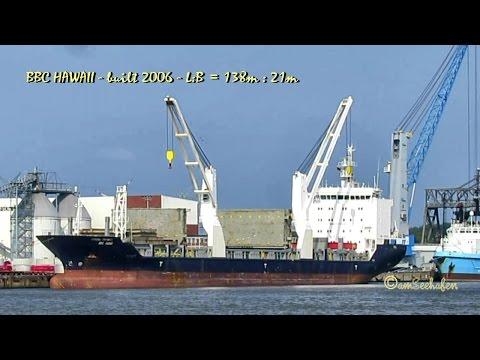 BBC HAWAII V2BK4 IMO  9358010 cargo seaship merchant vessel Frachtschiff Seeschiff Emden
