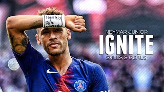 Neymar Jr ► Ignite ft. Alan Walker ● 2018/19 Crazy Skills & Goals | HD