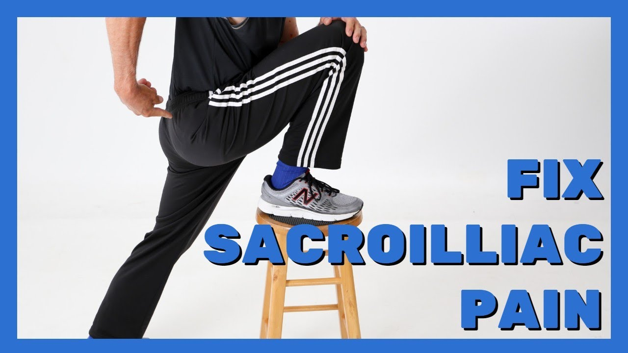 SI (Sacroilliac) Self-Treatment- 5 (At Home) Options to Fix SI Pain
