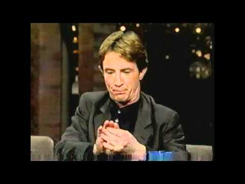 Martin Short on The Late Show With David Letterman, November 1996