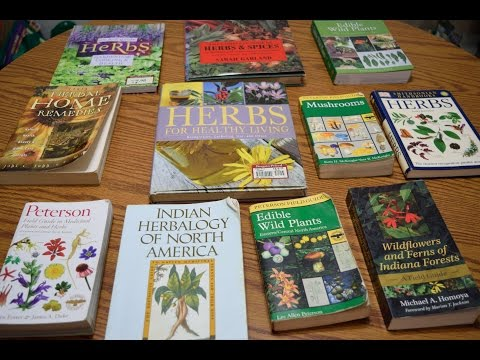 Recommended Books & Guides On Wild Edibles & Medicinal Plants