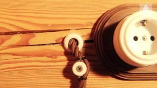 видео Открытая проводка в деревянном доме: особенности монтажа