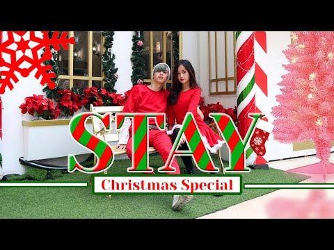 STAY - ZEDD, ALESSIA CARA DANCE IN PUBLIC | INVASION CHRISTMAS SPECIAL