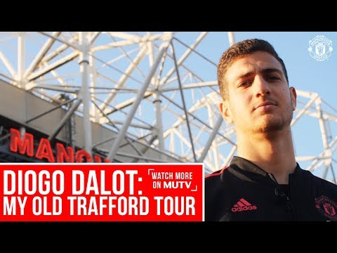 Diogo Dalot: My Old Trafford Tour | Watch More on MUTV | Manchester United