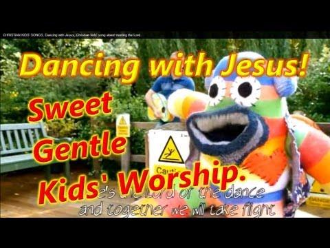 DANCING WITH JESUS. Christian Kids song.Christian kids music video.Christian children's songs.