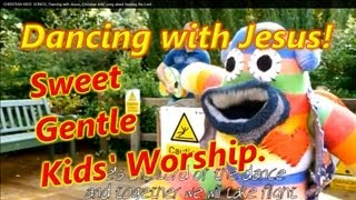 DANCING WITH JESUS. Christian Kids song.Christian music video.Christian children