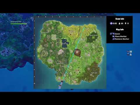 Free Tier, Treasure Map Location From Salty Springs (fortnite Battle Royale)