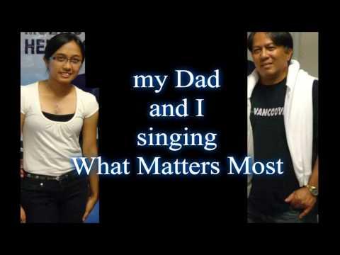 What Matters Most (videoke) Abby Molina