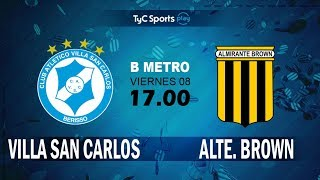 Villa San Carlos vs Almirante Brown full match