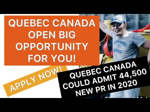 QUEBEC CANADA UPDATES FOR 2020, PROFESSIONAL, SKILLED WORKERS, CAREGIVERS MUST CHECK IT OUT! English