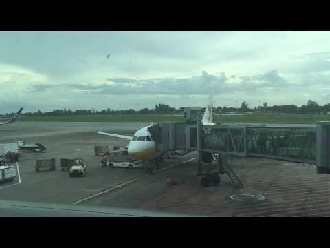 Myanmar Airways International Flight Experience: 8M232 Singapore to Yangon