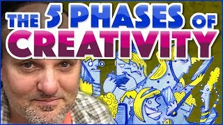The Five Phases of Creativity