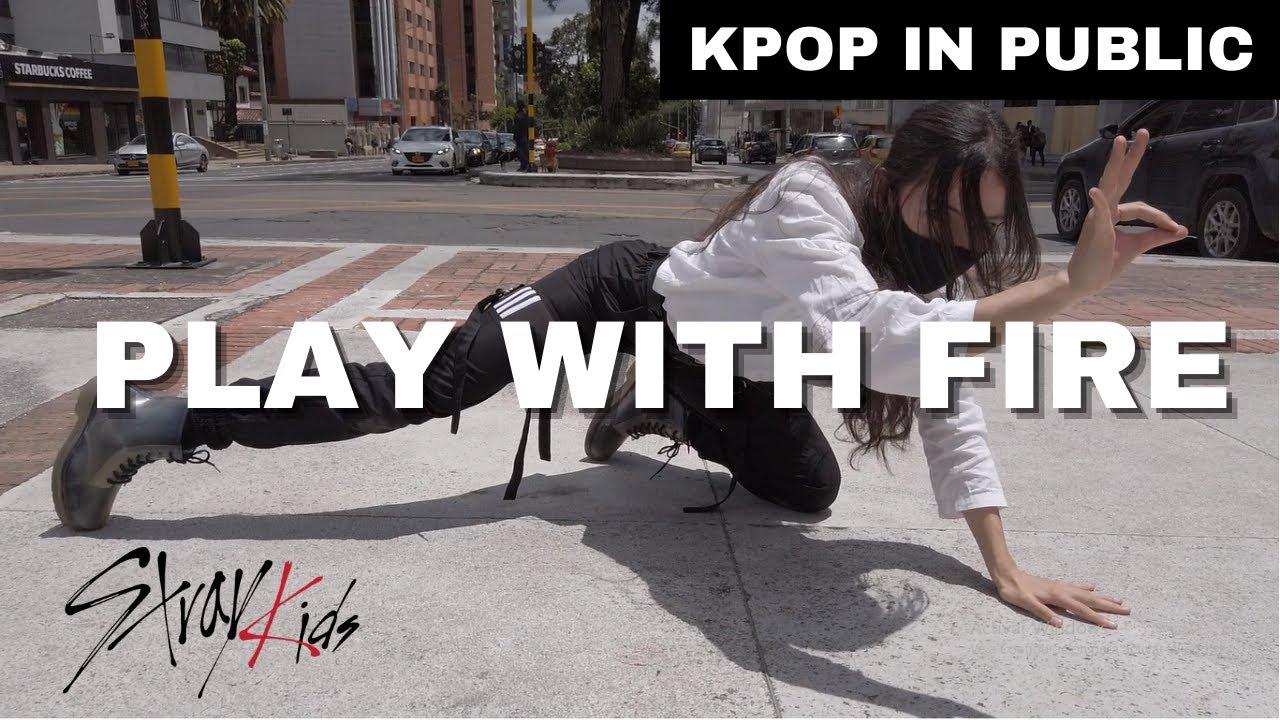 "[ KPOP IN PUBLIC ] Hyunjin ""Play With Fire (Feat. Yacht Money)"" (원곡 : Sam Tinnesz) | Deyna Cover"