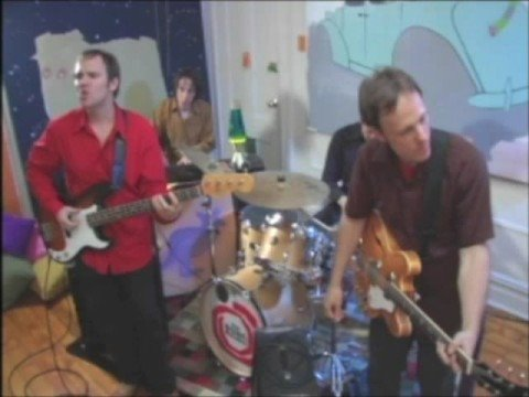 """A video of me with my band The Brilliant Mistakes performing our song """"The Girl You Left Behind,"""" shot in my old apartment in New York."""