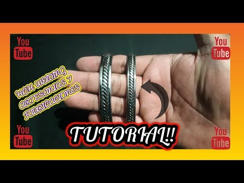 DIY Tutorial Pulsera acero inoxidable | stainless steel wire bracelet # 11 |