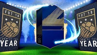 MY BEST PACK THIS YEAR??? 😱 HUGE TOTY 100K PACKS | FIFA 18 Ultimate Team Lightning Rounds