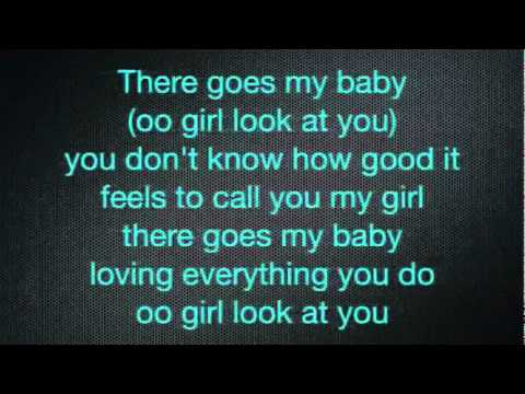 Usher   There Goes My Baby + Lyrics   YouTube